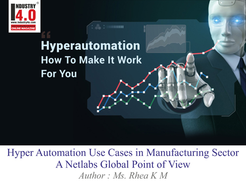 Hyper Automation Use cases in manufacturing sector